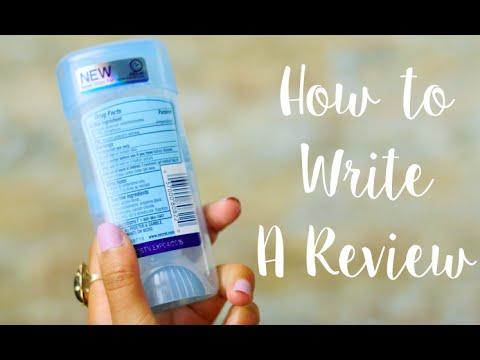 Influenster 101: How to Write A Review