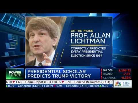 Election Forecasting Guru Allan Lichtman Predicts Donald Trump Will Win 2016 Election