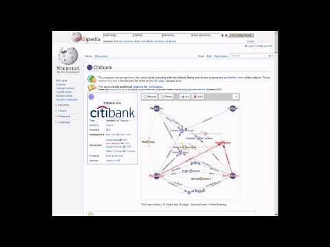 WiGipedia: Visual Editing of Semantic Data in Wikipedia