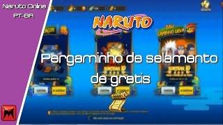 Naruto Online - Como pegar pergaminho de selamento de graça ( CUPOM BGS ) 8/09/16