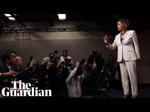'Don't mess with me': Nancy Pelosi responds to reporter asking if she hates Trump