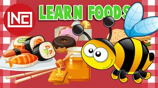 Learn Food Type and Menu | Learn the Alphabet | Easy Preschool Learning | Learn Shape Numbers