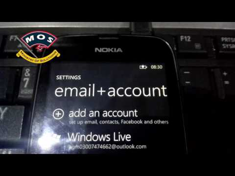 There is a problem with your live ID-Nokia Lumia