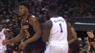 Zion Williamson Duke vs Louisville - Highlights | 2.12.19 | 27 Pts, Huge Comeback!
