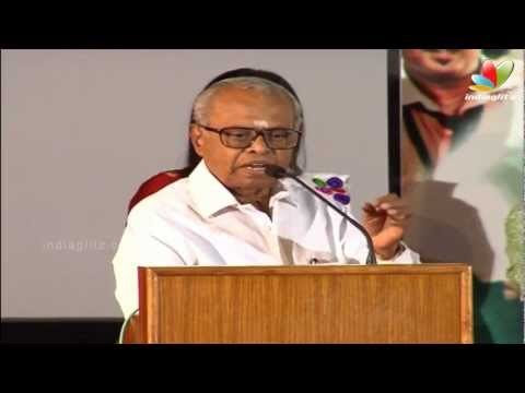 K Balachander Speaks about Kamal haasan's Dance | Vasanth Son Ritvik Varun Launch