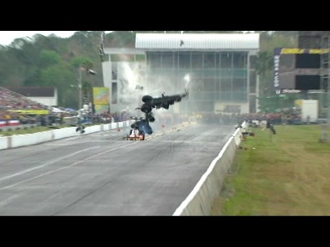 VIDEO: Car Snaps in Half at 262 MPH