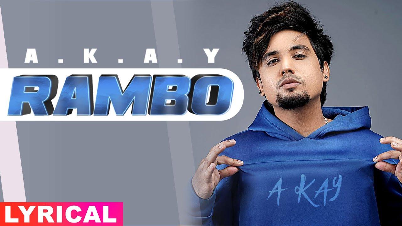 Rambo (Lyrical) | A Kay | Western Penduz | Latest Punjabi Songs 2020 | Speed Records