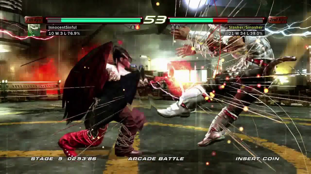Tekken 6 Xbox 360 Arcade Battle As Devil Jin Youtube
