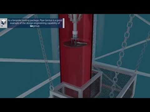 iasgroup Pipe Genius - Remotely Operated Ultra High Pressure Water Jet Cutting Tool