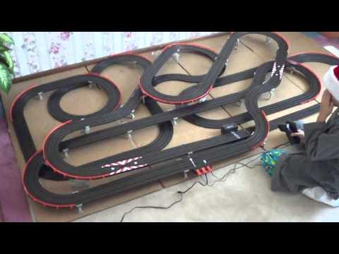 Afx giant raceway electric slot car track