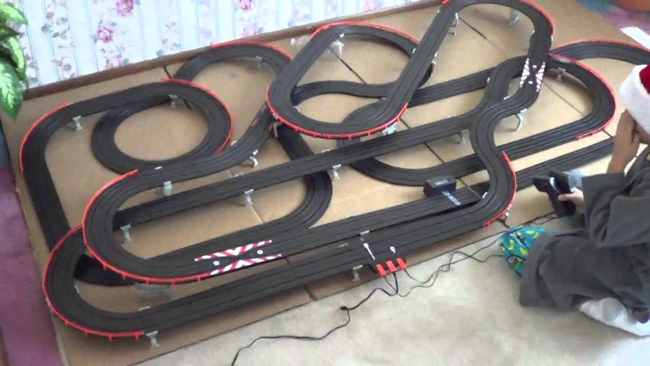 Afx Electric Slot Car Race Track