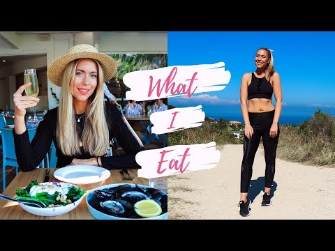 HOW I GOT ABS WITHOUT DIETING 👙💕 What I Eat in a Day