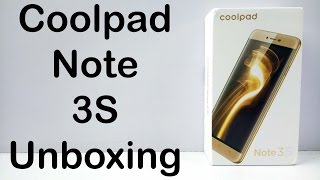 Coolpad Note 3S Unboxing amp Quick Hands on Review - Nothing Wired