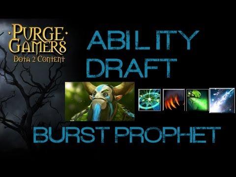 Dota 2 Ability Draft w/ Burst Prophet