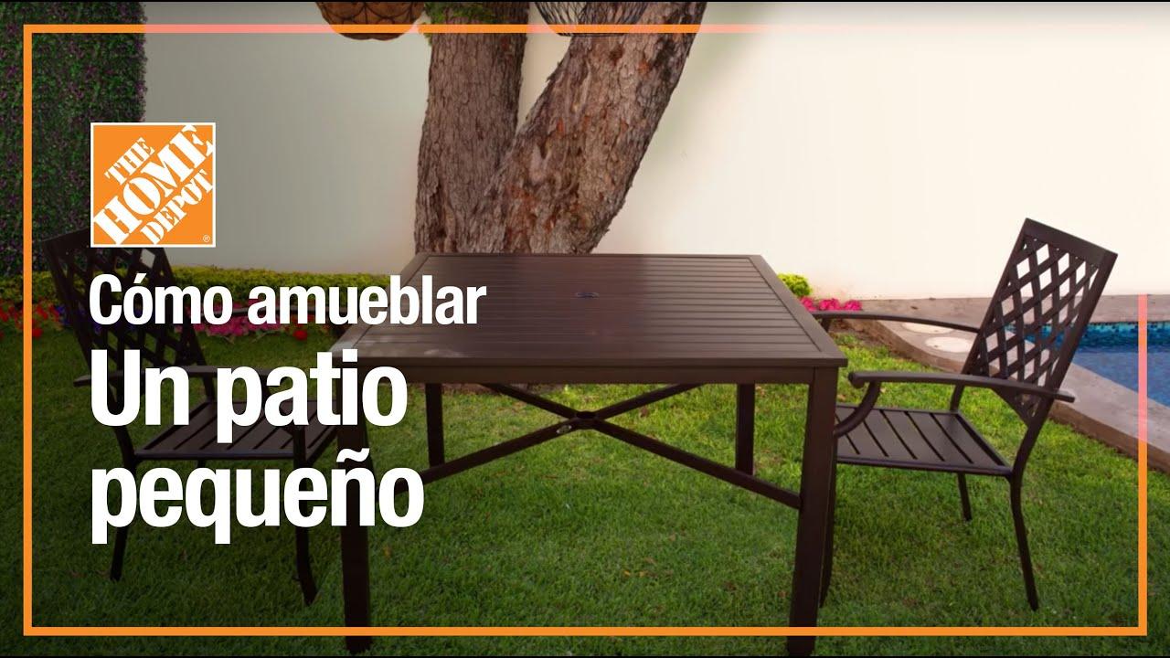 variedad de muebles de jardin para espacios pequenos jardineria the home depot mx