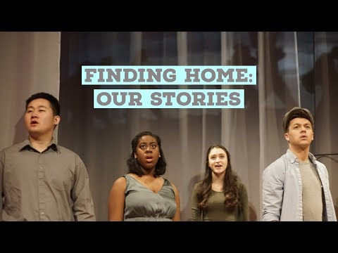 NYU Steinhardt Presents Finding Home: Our Stories