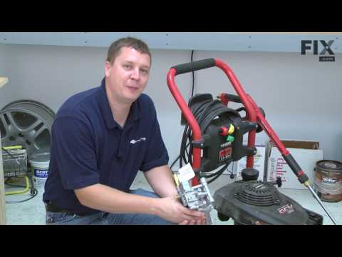 Homelite Pressure Washer Repair - How to Replace the Pump