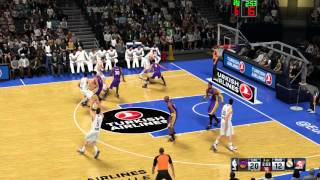 Nba 2k16   los angeles lakers vs real madrid baloncesto gameplay hd 1080p 60 fps