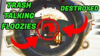 2v3 Against Trash Talking Floozies!!! - Rainbow 6 Siege || Custom Game