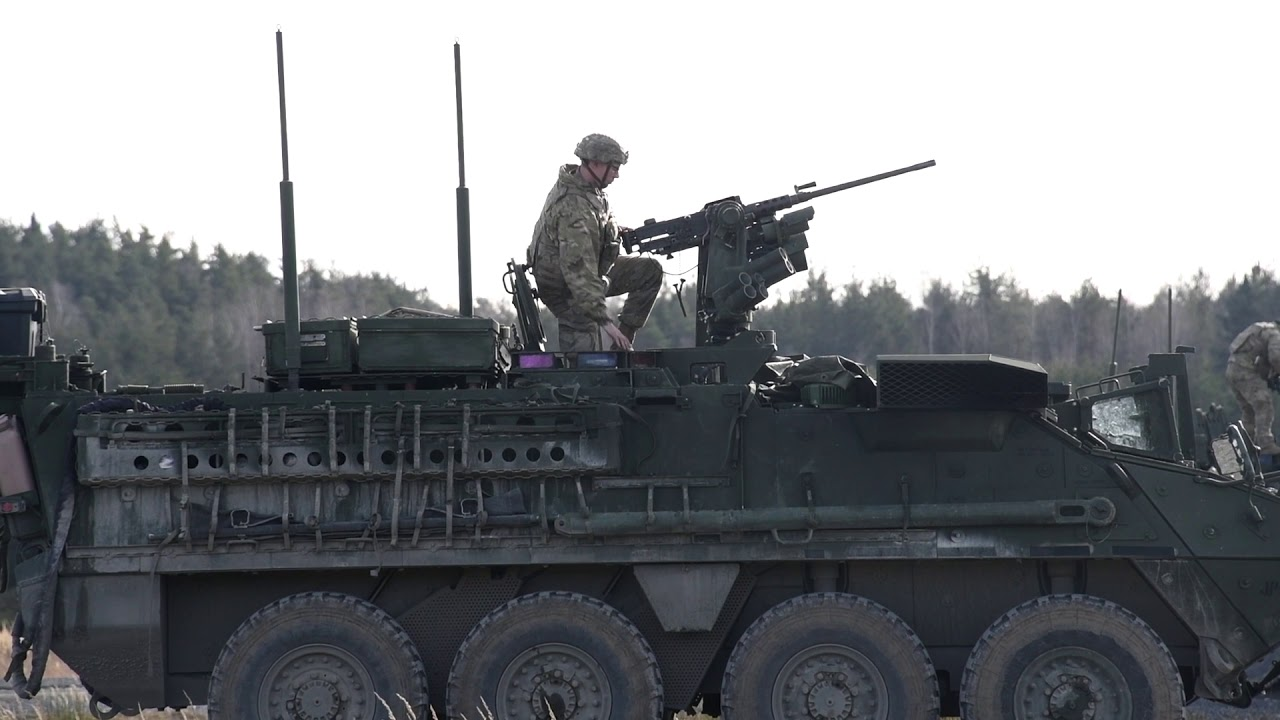 US Military News • U.S. Army 2nd Cav • Live-Fire Exercise • Germany – Feb 19 2021