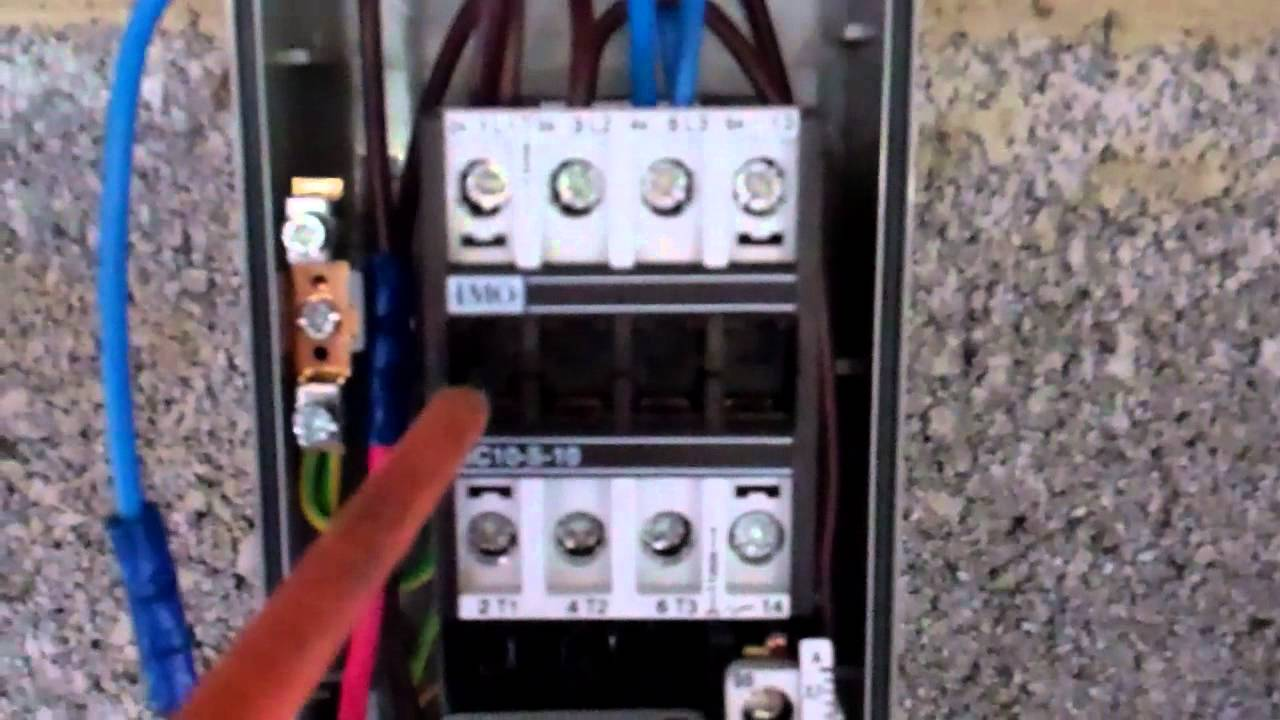 Ac Cooling Fan >> Hvac Contactor and Overloads - YouTube