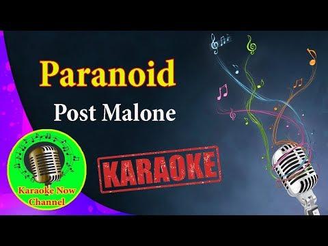 [Karaoke] Paranoid - Post Malone- Karaoke Now