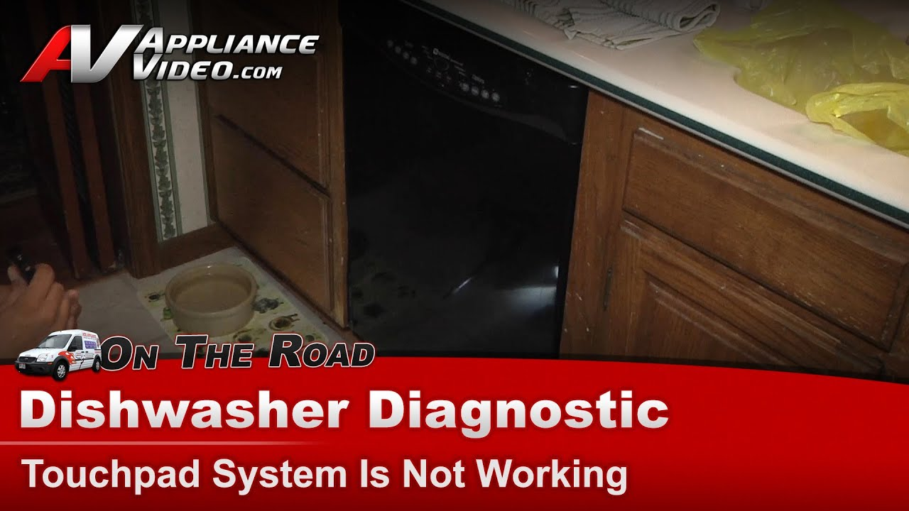 Dishwasher Diagnostic Touchpad Is Not Working Maytag Whirlpool Kenmore Roper Sears You