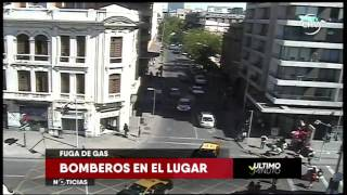Chilevisión - ÚLTIMO MINUTO - Fuga de gas en Santiago