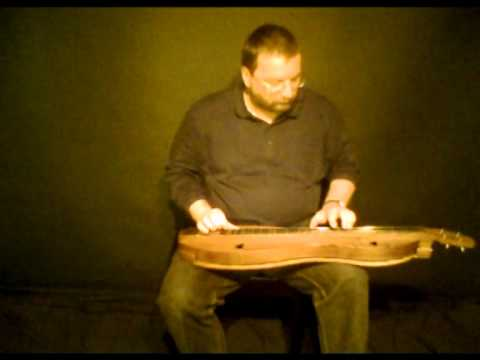 Hallelujah - Leonard Cohen cover (mountain dulcimer fingerpicking)