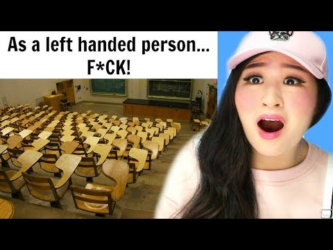 Pictures That Reveal The Struggles Of Being Left-Handed!