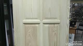 видео Входные двери из массива для дачи