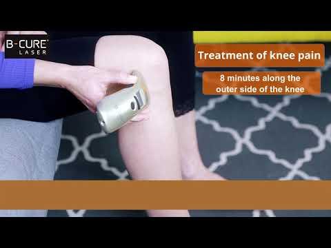 Laser pentru dureri la genunchi Durerea genunchiului este tratată cu succes cu terapie laser