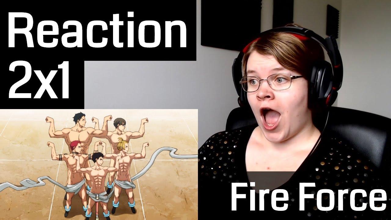 Download Fire Force Season 2 Episode 1 Reaction