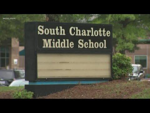 Vulgar message left outside South Charlotte Middle School
