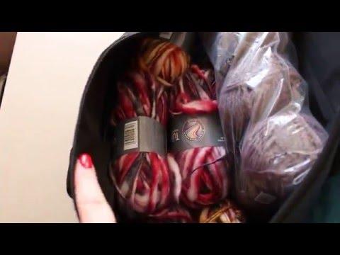 Mon rangement des fils de laine et des aiguilles/ Organization knit material