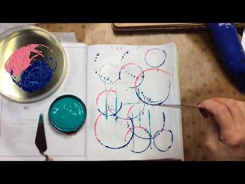 Cheap & Easy Art Journal Background Ideas