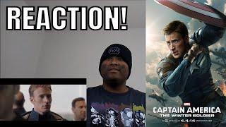 Elevator Fight Scene   Captain America The Winter Soldier (2014) Movie Clip Reaction!