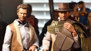 "12"" 1/6 Custom BLONDIE The Cowboy FIGURE! Good, Bad, and the Ugly! CLINT EASTWOOD."