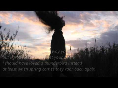 Carol Anne McGowan - Mad Girl's Love Song(Lyrics)