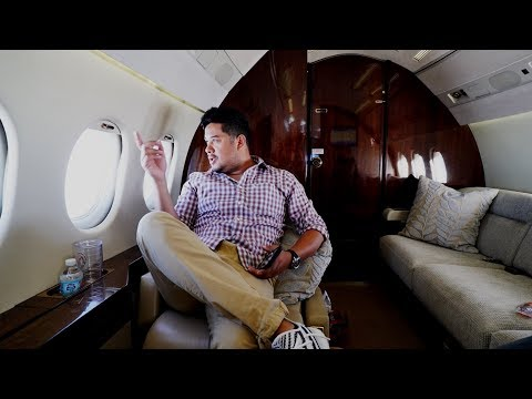 FIRST TIME IN A PRIVATE JET!!