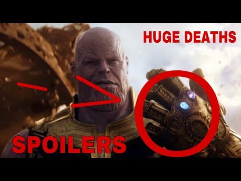 *SPOILERS* AVENGERS INFINITY WAR SPOILERS *PLOT LEAK* *HUGE DEATHS* *ENDING REVEALED*