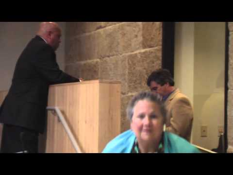 Mike Martinez Hides With Lobbyist Richard Suttle Armbrust Brown Austin City Council Chambers 12/6/12