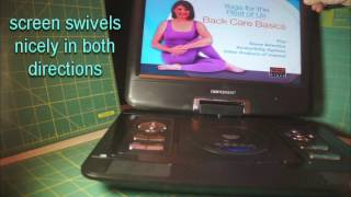 Excellent DBPOWER 13 3 Inch Portable DVD Player Review