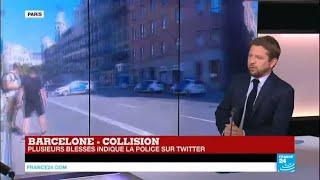 """""""Attentat très facile à perpétrer"""" - Une fourgonnette percute violemment la foule à Barcelone"""