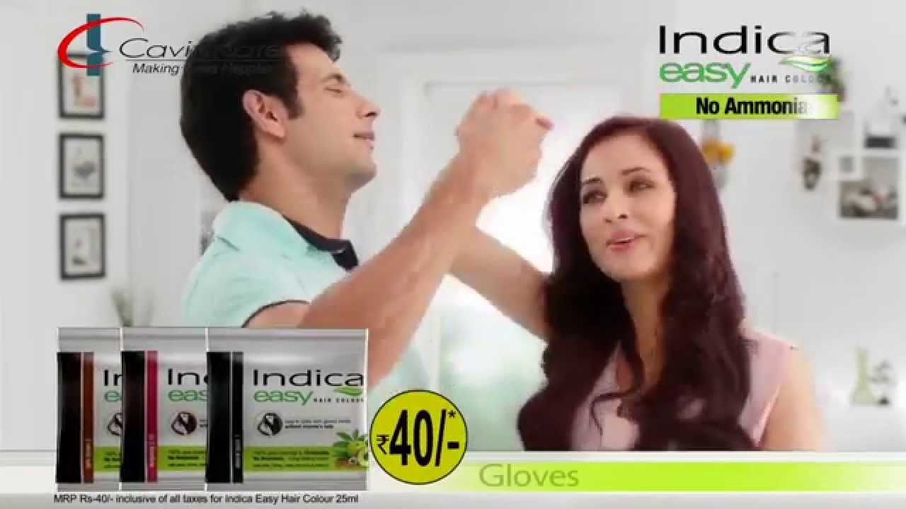 2015 Indica Easy Hair Colour Tvc Malayalam Youtube