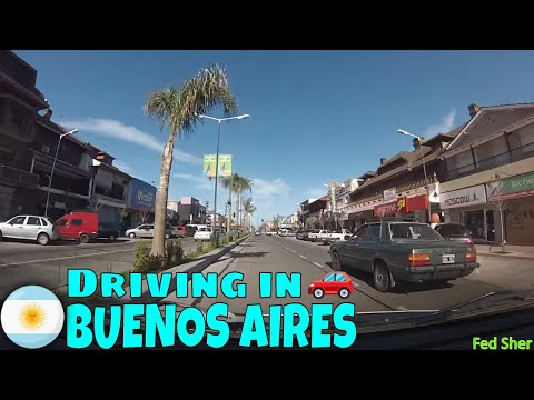 Driving in Buenos Aires (from Victoria to Don Torcuato)