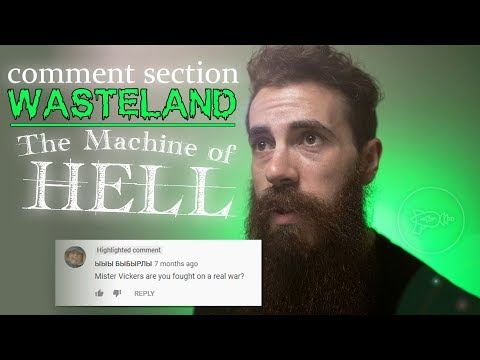 Comment Section Wasteland: Larry Vickers & the Machine of HELL [Episode 2] from YouTube · Duration:  4 minutes 49 seconds
