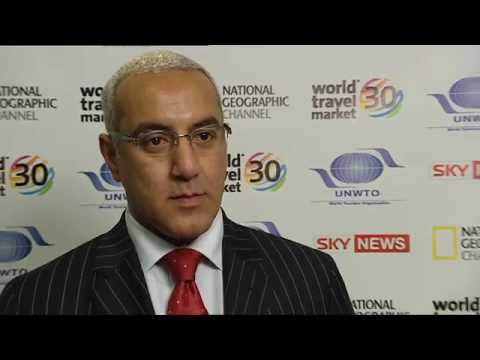 WTM 2009 Interviews - Najib Balala - Minister of Tourism Kenya