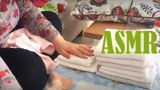 ASMR Baby's Laundry Folding   No Talking