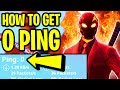How To Get 0 PING in Fortnite! (LOWER PING COMPLETE GUIDE) | Fortnite How To STOP LAG & LOWER PING